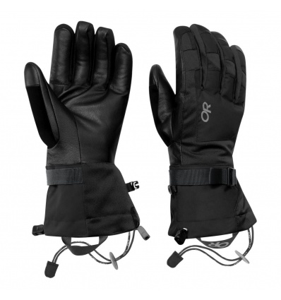 Gants de ski homme OUTDOOR RESEARCH Revolution - Noir