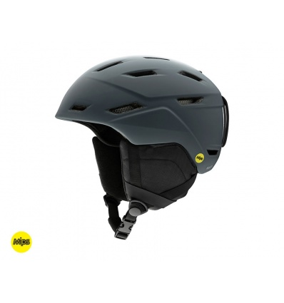 Casque de ski homme SMITH Mission Mips - Matte charcoal