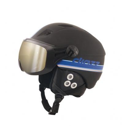 Casque de ski DIEZZ Glide Activ Ventury - Black Blue