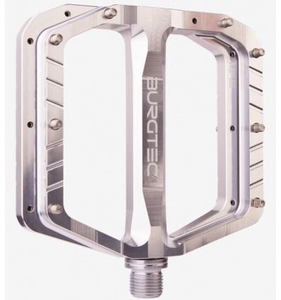 Pedales plates BURGTEC MK4 Silver
