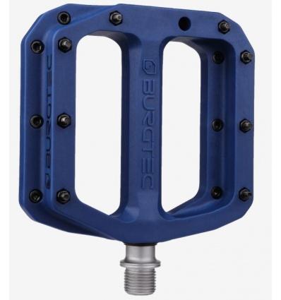 Pedales plates BURGTEC MK4 Composite - Deep Blue