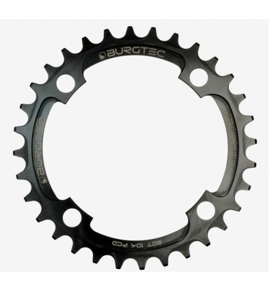 Plateau BURGTEC 104 mm BCD Thick Thin Chainring