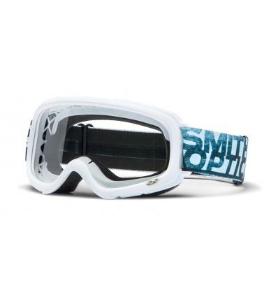 Masque VTT / Moto Cross SMITH Gambler MX Blanc
