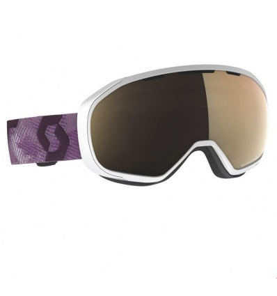 Masque de ski SCOTT Fix White/Cassis Pink