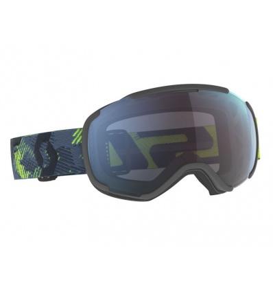 Masque de ski SCOTT Faze II - Ultralime Green/Strom Grey