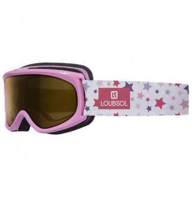 Masque e ski fille LOUBSOL Youpi Rose S3