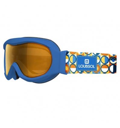 Masque de ski enfant LOUBSOL Etoile Bleu Photochromique