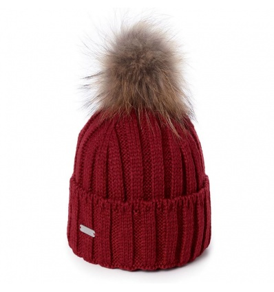 Bonnet PIPOLAKI Vancouver - Dark Red / rouge