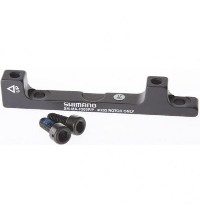 Adaptateur SHIMANO Etrier Postmount à Postmount AV/AR 203 mm