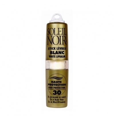 Stick à lèvres SOLEIL NOIR Blanc IP 30