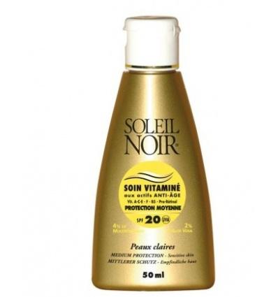 Soin Vitaminé SOLEIL NOIR SPF 20