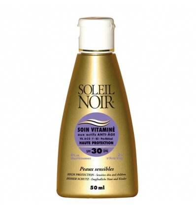 Soin Vitaminé SOLEIL NOIR SPF 30