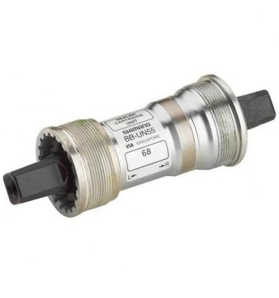 Boitier de pédalier SHIMANO Axe carré 68x122.5 mm BB-UN55