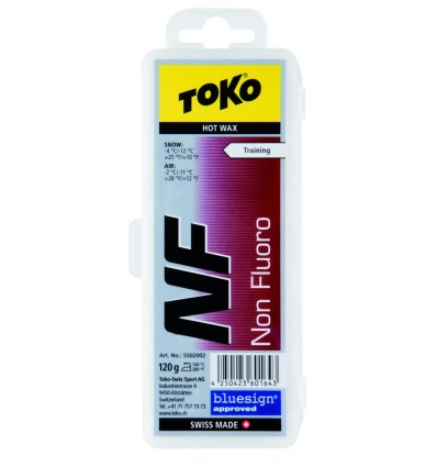Fart à chaud TOKO NF Hot Wax 120g Rouge