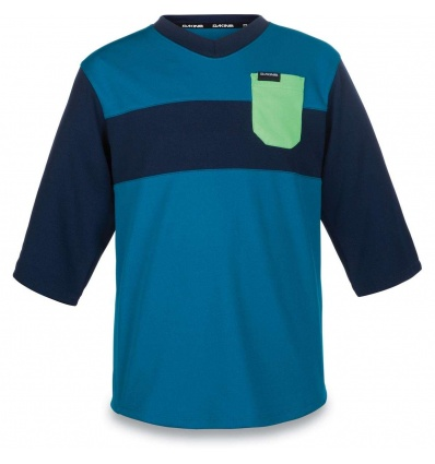 Maillot DAKINE Kids Vectra Jersey 3/4 - Blue Rock / Midnight