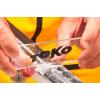 Racloir TOKO Plexi Blade Ski 5 mm - Utilisation