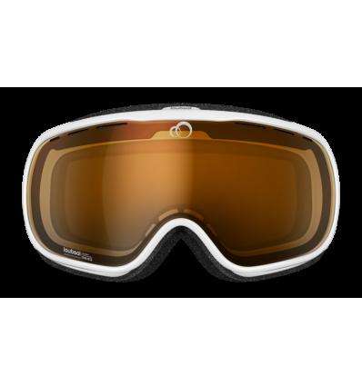 Masque de ski LOUBSOL Atom Photochromique S2/S3 - Blanc
