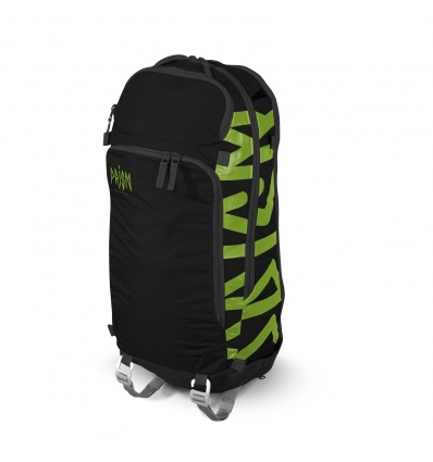 Volume sac à dos PRISM Zip-On Cobalt 18 L - Black / Green Apple