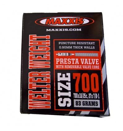 Chambre à air MAXXIS Presta 700 x 18/25.27x7/8 Welter Weight
