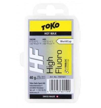Fart TOKO HF Hot Wax 40g - Jaune