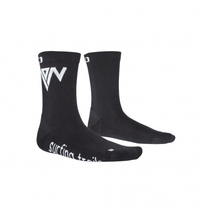 Chaussettes ION Socks Mid Pole Black
