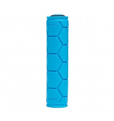 Poignées VTT FABRIC Silicone Lock On Grips - Bleu
