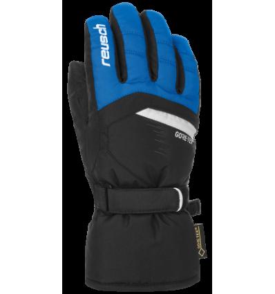 Gants de ski enfant REUSCH Bolt GTX Jr - Noir/Bleu