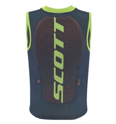 Gilet de protection SCOTT Vest Protector Jr Actifit Bleu / vert