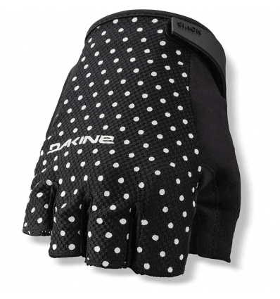 Gants DAKINE Women's Novis 1/2 finger Black Dotty