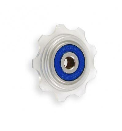 Roulette monoplateau E13 Stealth Blanc