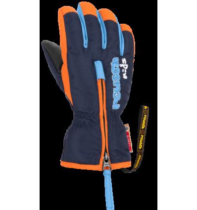 Gants REUSCH Ben  - Bleu / Orange