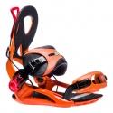 Fixations de snowboard GNU Cheeter Orange