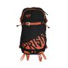 Volume sac à dos PRISM Zip-On Titane 22 - Black / Fire orange