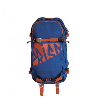 Volume sac à dos PRISM Zip-On Tantale 33 - Blue Lake / Fire orange