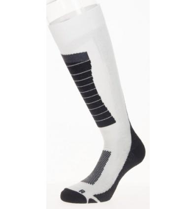 Chaussettes de ski MAKALU Jorasses - Blanc/Noir/Gris