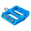 Pédales plates plastiques RAD PARTS - Bleu